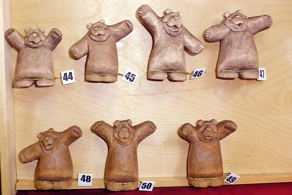 Anniversary Bear Carvings Group 5